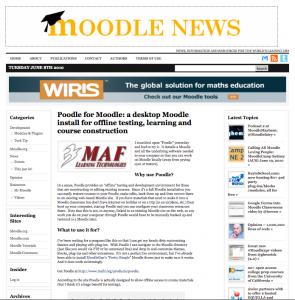 MoodleNews